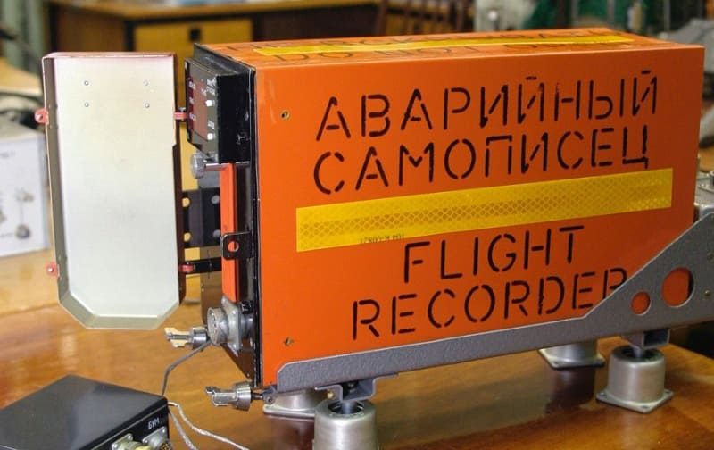 Авиационный самописец (черный ящик)