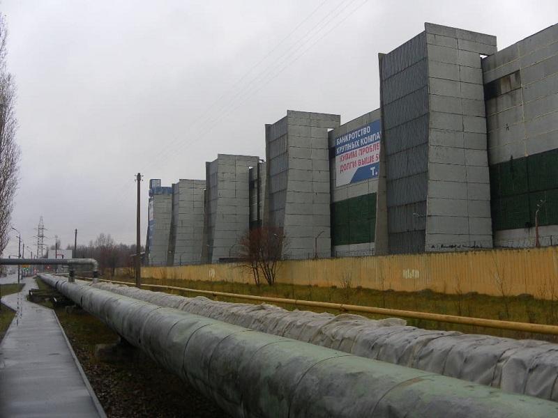 Восстановительные работы в главном механосборочном цехе завода РУМО