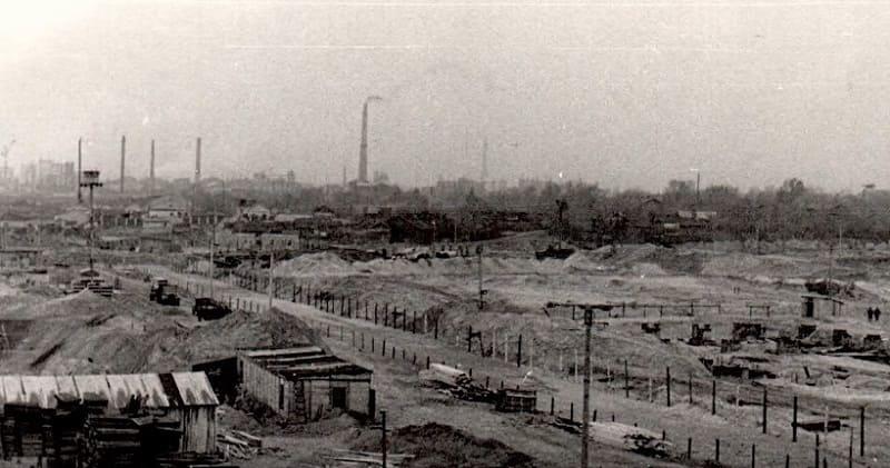 Строительство завода Капролактам